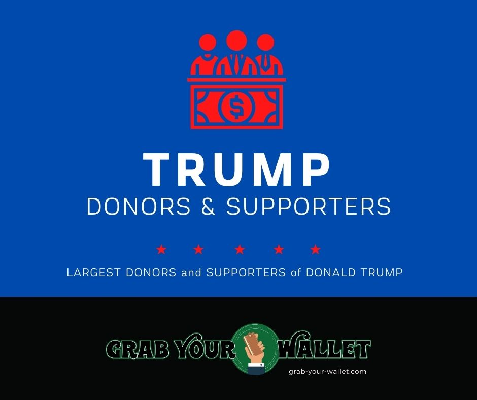 List of Large Trump Donors and Supporters