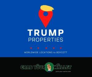 Trump Property Locations Worldwide Boycott Donald Trump
